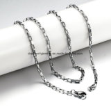 In het groot Roestvrij staal 304 1mm Halsband van de Ketting van de Doos