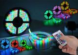 Impermeabilizar la tira flexible de 5050 RGB LED