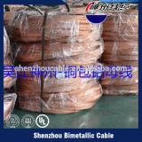 PVCによって絶縁される銅線電気ワイヤー