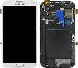 Digitalizador de OEM Conjunto de la pantalla LCD de Samsung Galaxy Note2 Frame