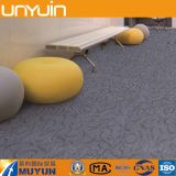 Suelo de PVC de la textura de la alfombra, azulejo del piso del vinilo para la oficina / el surtidor de China