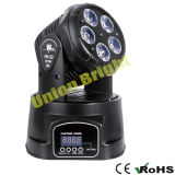 Lumière principale mobile de /LED de mini de la lumière 5X15W /LED de DEL lumière légère principale mobile principale mobile d'effet mini