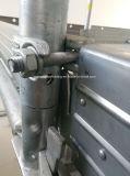 Solte a braçadeira de retenção da placa de andaimes forjadas ou acoplador de placa de fecho