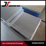Núcleo del intercambiador de calor de la aleta de la placa de aluminio
