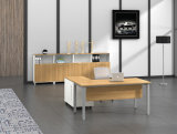 사무용 가구 금속 Ht03-1를 가진 강철 사무실 직원 테이블 다리