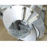 Cortador automático de cenoura em aço inoxidável para peças e tiras
