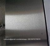 ASTM A240 304-#4 aplicó finales inoxidables de la hoja con brocha de acero