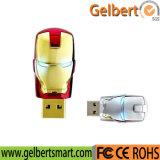 16g bastante flash único del USB 2.0 del modelo del hombre del hierro del palillo de la memoria