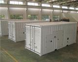 Cummins Diesel 발전기에 의하여 1200kw 컨테이너로 수송된 & 방음 유형