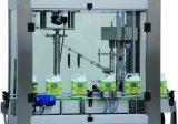Tipo linear máquina tampando para frascos com os tampões da linha de parafuso