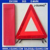 접을 수 있는 사려깊은 차 안전 경고 삼각형 표시 장비 (JG-A-03)