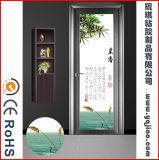 Decoratieve Stickers van pvc van China de Leverancier Berijpte voor de Deur van het Glas
