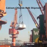 Poudre de chlorure de calcium anhydre pour forage au pétrole (94% -98%)
