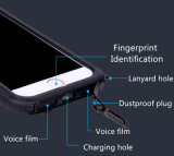 Agua de la adsorción del imán/caja a prueba de polvo del teléfono con el orificio del acollador