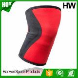 Support de douille de compression au genou en néoprène d'athlétisme