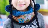 Новый способ 2016 связал комплекты шарфа шлема детей на зима