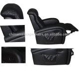 Presidenza di lusso nera di massaggio dell'ufficio con differenti materiali (A020K)