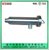 Tipo de ángulo de 90 grados Sanitaria DN65 filtro del tubo de ranura