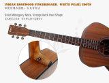 Aiersiのブランド40のインチOmは薄板にされたマホガニーのアコースティックギターのスタイルを作る