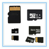 Cartão de memória plástico do SD do micro da alta qualidade do OEM