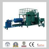 Máquina de la regeneración del aceite del motor de los desechos de ZLE / purificador del aceite