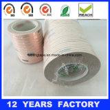 fita de cobre adesiva da folha do único silicone lateral de 0.09mm
