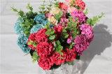Fiore artificiale di piccola dimensione del Hydrangea del rifornimento della fabbrica per decorativo dell'interno