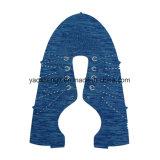 Верхушка ботинок Knit ODM OEM плоская и плоская ткань Knit