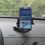 Cargador de carga de la radio de la electrónica del coche de Qi del corchete del teléfono sin hilos