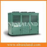 Baja temperatura refrigerado por agua Caja Tipo de unidad de condensación V