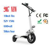Велосипед батареи лития e 2 приводных колес складной
