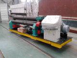 Machine de roulement mécanique de plaque de W11 3 Rolls