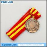 Cadeau fait sur commande de souvenir de pièce de monnaie de médailles de médaille en laiton antique