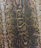 의복, 부대, 훈장, 단화 (HS-Y39)를 위한 환상적인 뱀 곡물 반짝임 합성 가죽
