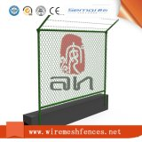 도매 PVC 입히는 다이아몬드 메시 체인 연결 직물