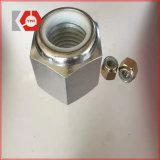 Вставка Locknuts/DIN985 нержавеющей стали Hex Nylon