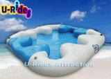 Inflável Island Raft para festa ou parque aquático