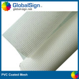 Tela de acoplamiento al aire libre del PVC, material del acoplamiento, haciendo publicidad de la bandera del acoplamiento