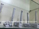 Rondelle de porte coulissante en aluminium automatique pour porte coupe-feu