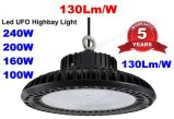 400W 금속 할로겐 전구 500W 할로겐 램프 LED 보충 130lm/W 100W UFO LED 높은 만 빛