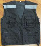 Я проложены прокладывающ тельняшку грелки тела безопасности зимы Hi-Viz отражательную защитную (BW17)