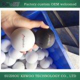 Высокий шарик Lacrosse силиконовой резины Quatity