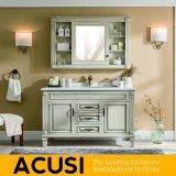 Nuova vanità semplice americana della stanza da bagno di legno solido di stile (ACS1-W45)
