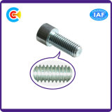 DIN/ANSI/BS/JIS Carbon-Steel/Stainless-Steel 4.8/8.8/10.9 Parafuso Hexgon Interno galvanizado para construir