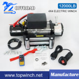 SUV 4 * 4 12V Off-Road-Winch Truck Winch 12000lb