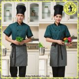 Trendy Casual Hotel Staff Top Cap Restaurant T-shirts uniformes