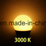 Bulbo ligero del globo E26 E27 AC100-240V SMD LED de la lámpara A60 10W del LED, blanco caliente
