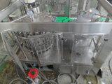 Maquinaria de enchimento do suco de fruta do frasco de vidro para o tampão de coroa