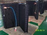 7mm ont vissé le condensateur en aluminium d'ailette de tube de cuivre