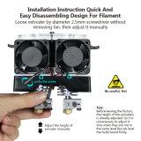 Ecubmaker Qualitäts-Drucker 3D mit Doppelextruder. OLED Bildschirm